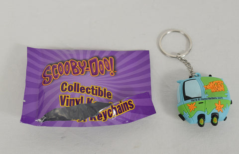 Scooby-Doo Collectible Vinyl Keychain Mystery Machine Rare Key Ring