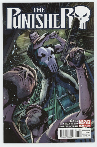 Punisher 4 9th Series Marvel 2011 NM Greg Rucka Bryan Hitch Marco Checchetto