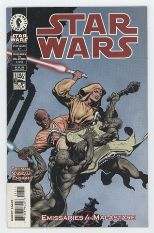 Star Wars 17 1st Series Dark Horse 2000 NM- 1st Quinlan Voss Mace Windu