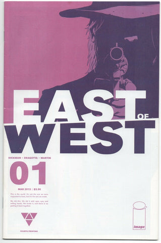 East Of West 1 D Image 2013 VF 4th Print Jonathan Hickman Nick Dragotta