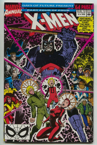 X-Men Annual 14 Marvel 1990 FN 1st Gambit New Mutants X-Factor Cable