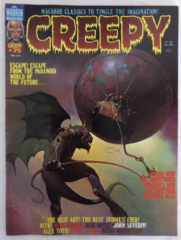 Creepy Magazine 75 Warren 1975 FN VF Neal Adams Wally Wood