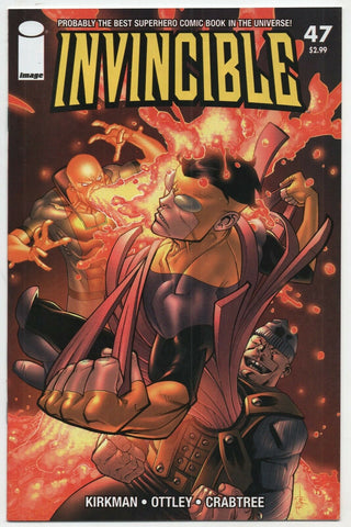 Invincible 47 Image 2007 NM+ 9.6 Robert Kirkman Ryan Ottley
