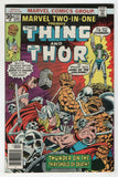Marvel Two In One 22 1976 VF Thing Thor Human Torch