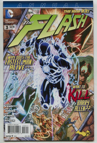 Flash Annual 3 4th Series DC 2014 NM 1st Wally West New 52 Brett Booth