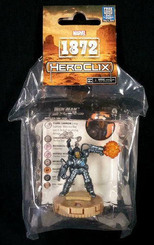 Heroclix Iron Man 1872 Wizkids Previews Exclusive LE Promo FCBD 2019 PX