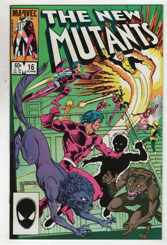 New Mutants 16 Marvel 1984 NM 1st Warpath Magik Chris Claremont