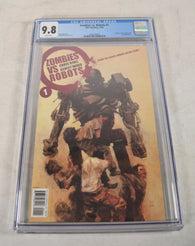 Zombies Vs Robots 1 A IDW 2006 CGC 9.8 Ashley Wood ZVR
