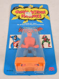 Spider-Man Action Figure Mego Comic Action Heroes 1975 MOC New 3 3/4""