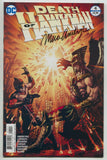 Death Of Hawkman 4 DC 2017 NM Signed Marc Andreyko