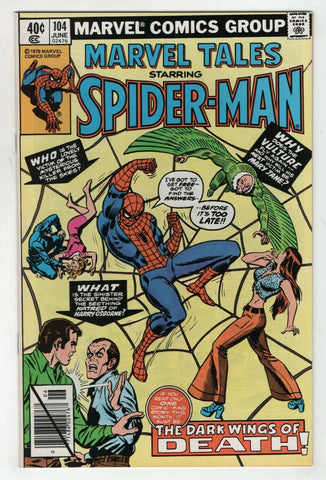 Marvel Tales 104 1979 NM Amazing Spider-Man 127 Vulture John Romita