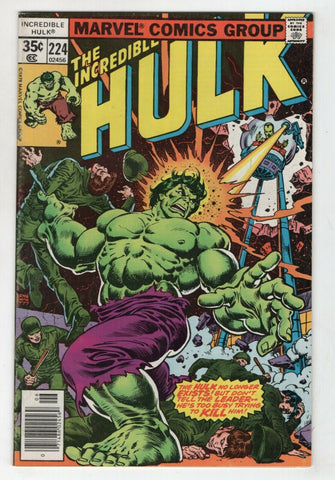 Incredible Hulk 224 Marvel 1978 FN VF Leader Doc Samson Ernie Chan