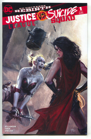 Justice League VS Suicide Squad 1 Gabriele Dell'otto Color Variant Harley Quinn
