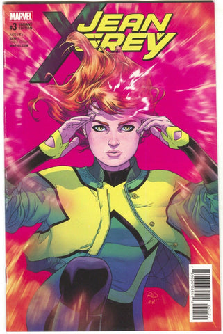 Jean Grey 3 B Marvel 2017 NM 1:25 Russell Dauterman Variant X-Men