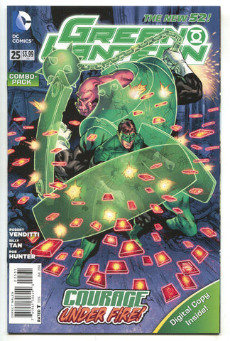 Green Lantern 25 4th DC 2014 NM New 52 Combo Pack Variant Corps Hal Jordan