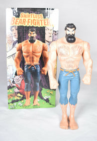 Shirtless Bear Fighter Action Figure LTD 244/400 Image 8.5""