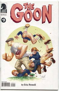 The Goon 9 3rd Series Dark Horse 2004 NM Eric Powell Norman Rockwell
