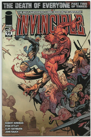 Invincible 99 Image 2012 NM+ 9.6 Robert Kirkman Ryan Ottley
