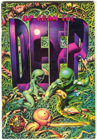 Up From The Deep 1 Rip Off 1971 VF 1st Print Richard Corben Greg Irons