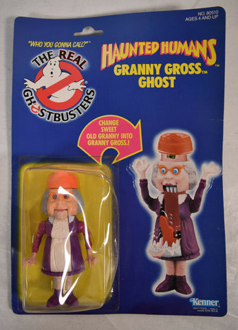 Real Ghostbusters Haunted Humans Granny Gross Ghost Action Figure Kenner MOC