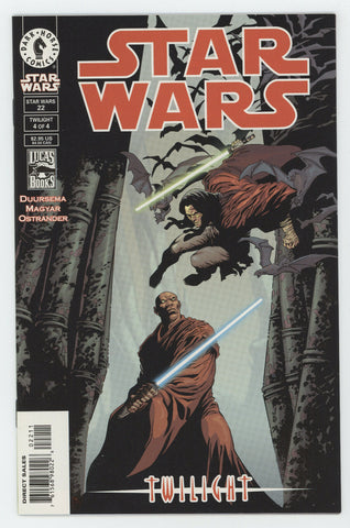 Star Wars 22 1st Series Dark Horse 2000 NM Quinlan Voss Mace Windu