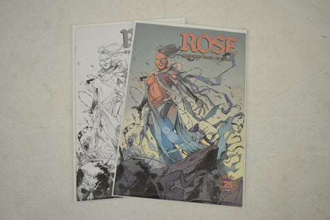 Rose 1 Image 25th Anniversary Box Variant Color Sketch Set 2