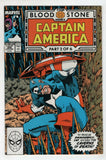 Captain America 358 Marvel 1989 NM Bloodstone Hunt Baron Zemo Batroc