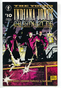 Young Indiana Jones Chronicles 10 Dark Horse 1992 VF Dan Berry
