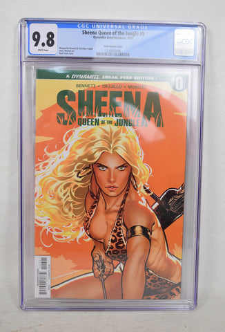 Sheena Queen Of The Jungle 0 Dynamite CGC 9.8 NM/MT 1:50 Ryan Sook Variant