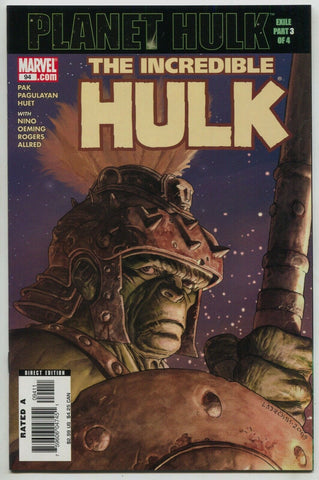Incredible Hulk 94 Marvel 2006 NM- Greg Pak Planet Exile 1st Warbound
