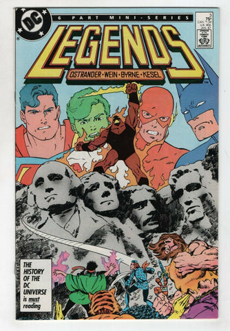 Legends 3 DC 1986 NM- Superman Batman Justice League 1st Suicide Squad