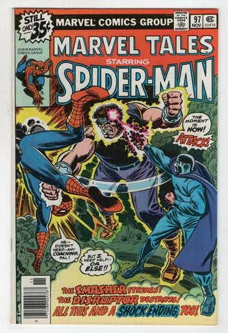 Marvel Tales 97 1978 NM- Amazing Spider-Man 118 Disruptor John Romita