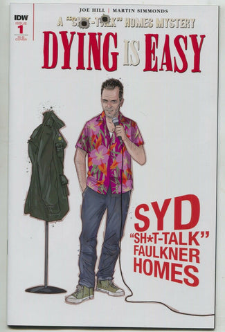 Dying Is Easy 1 IDW 2019 NM 1:25 Martin Simmonds Variant Joe Hill