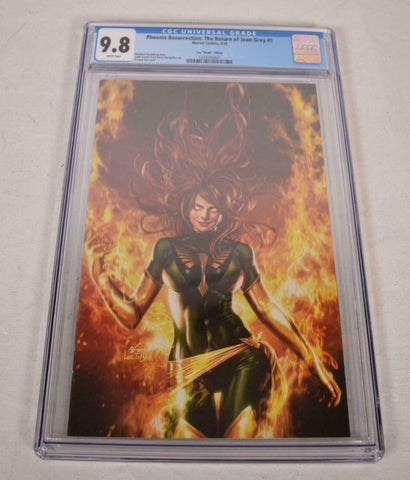 Phoenix Resurrection 1 Marvel 2017 CGC 9.8 In-Hyuk Lee Virgin Variant GGA