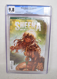 Sheena Queen Of The Jungle 0 Dynamite CGC 9.8 NM/MT 1:25 Moritat Variant