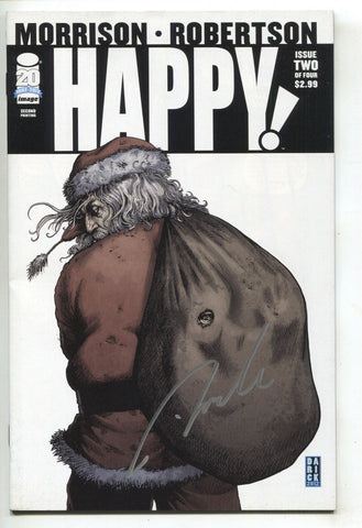 Happy 2 A Image 2012 NM 2nd Print Signed Darick Robertson SYFY TV
