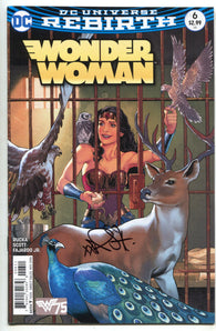 Wonder Woman 6 A DC Rebirth 2016 NM- Signed Nicola Scott