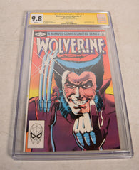 Wolverine 1 Marvel 1982 NM CGC 9.8 Signed Frank Miller Limited Series