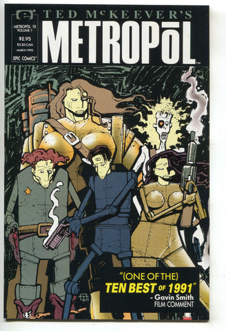 Metropol 12 Epic 1992 NM Ted McKeever