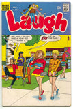 Laugh 213 Archie 1968 VG Riverdale School Girl Mini Skirt Jughead Veronica