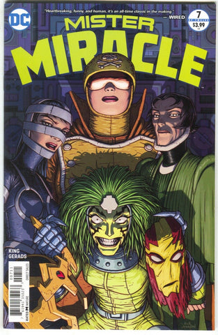 Mister Miracle 7 A DC 2018 NM Tom King Nick Derington Mitch Gerads
