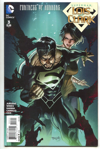 Superman Lois And Clark 3 DC 2016 VF NM Jonathan Kent Lee Weeks