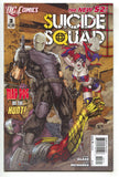 Suicide Squad 3 4th Series DC 2012 NM+ 9.6 New 52 Harley Quinn Deadshot Movie