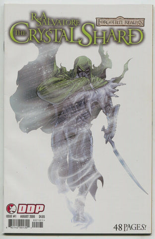 Forgotten Realms Crystal Shard 1 A Devils Due 2006 NM- Drizzt RA Salvatore