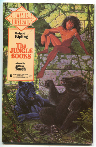 Classics Illustrated 22 First Publishing 1991 NM Jungle Book