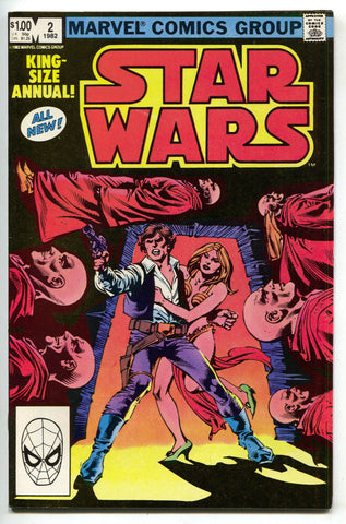 Star Wars Annual 2 Marvel 1982 VF NM Luke Skywalker Princes Leia Han Solo
