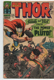 Mighty Thor 128 Marvel 1966 VG Jack Kirby Stan Lee Hercules Pluto