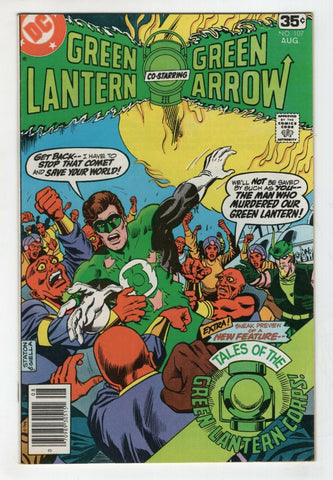 Green Lantern 107 1st Series DC 1978 VF Green Arrow Black Canary Mike Grell