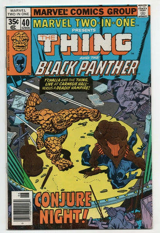 Marvel Two-In-One 40 1978 VF Thing Black Panther Yellow Jacket