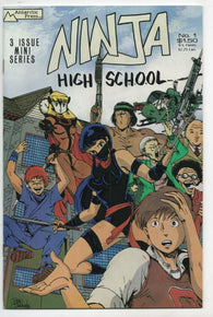 Ninja High School 1 Antarctic Press 1986 NM- Signed Numbered Ben Dunn LTD 500